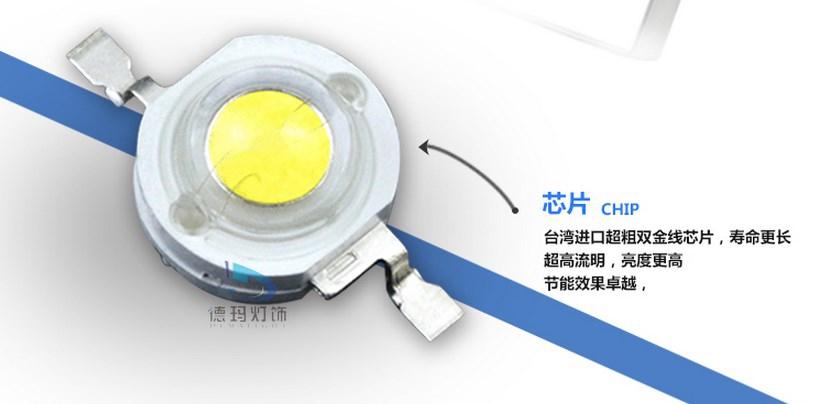 Светодиодный светильник LED Dema Light 6W-182W (115-103) - 7