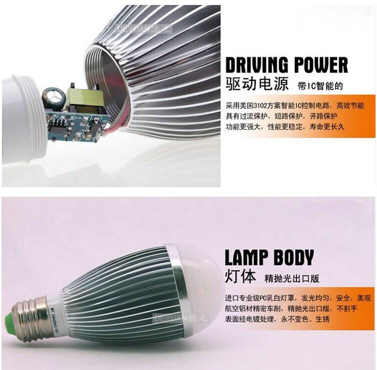 Светодиодная лампа для роста растений LED Judeyuan JDY-ZYD-013 (112-110) - 6
