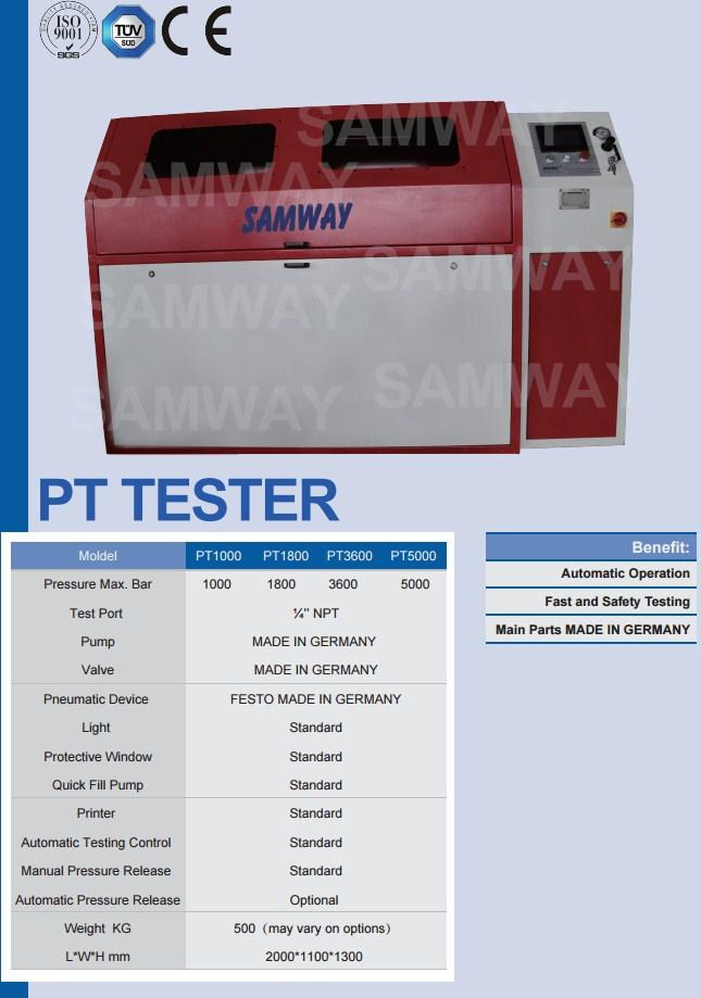 Стенд для испытания РВД - SAMWAY PT5000 (108-197) - 2