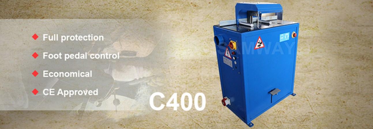 Отрезной станок для РВД SAMWAY C400 (108-140) - 1