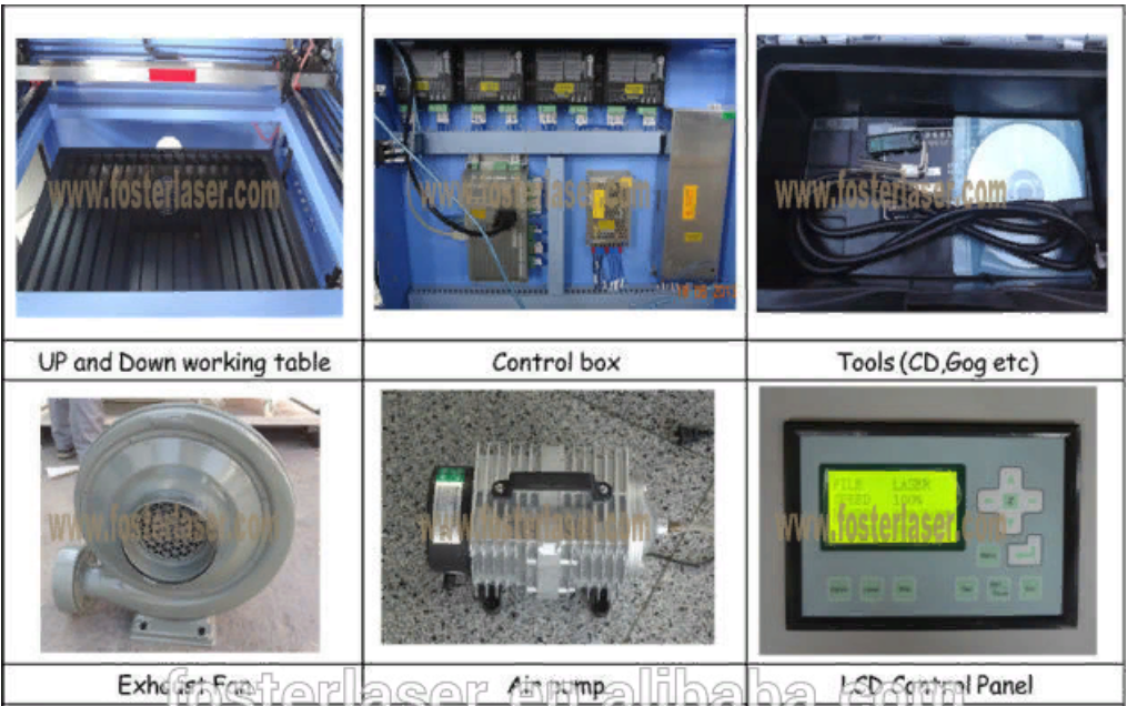 Станок лазерной резки FST-1612 (103-140) - 6