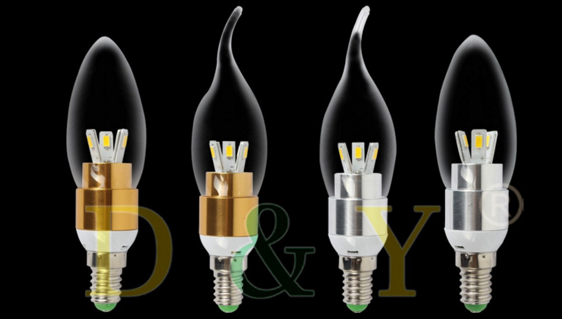 Лампа пожаробезопасная с металлическим корпусом LED-E14-3W-2835 (101-217) - 13
