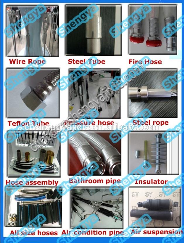 Станок для обжима РВД Shengya SY-CNC80 (108-156) - 8