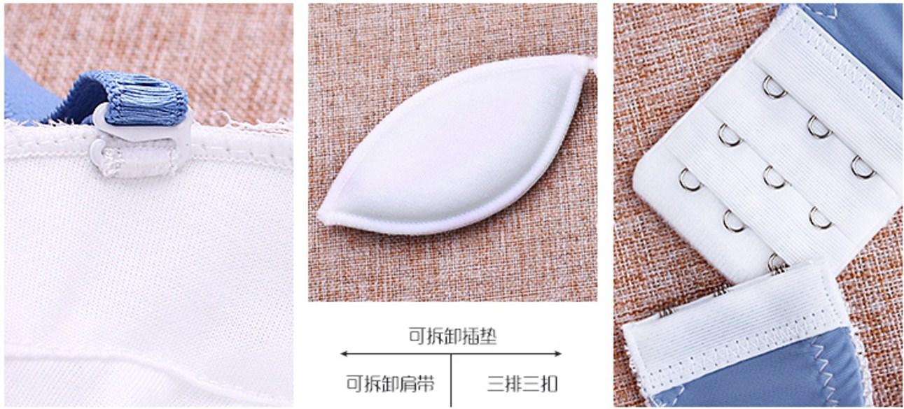Комплект кружевного белья 60800D (125-106) - 11