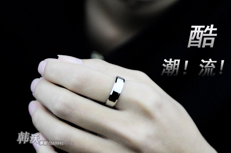 Мужское кольцо из титановой стали (124-111) - 6