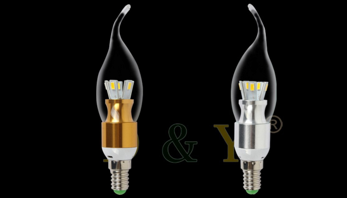 Лампа пожаробезопасная с металлическим корпусом LED-E14-5W-2835 (101-223) - 12