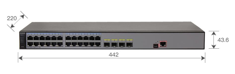 Коммутатор Huawei S5700S-28P-LI-AC (134-115) - 2