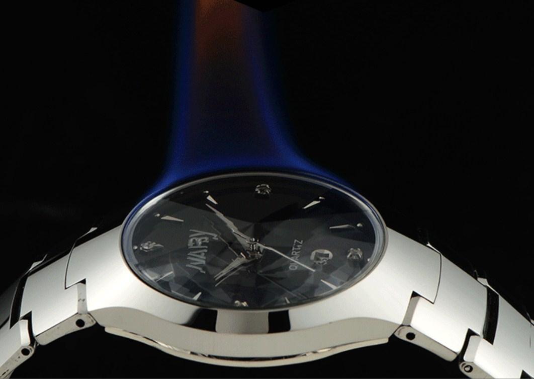 Водонепроницаемые мужские и женские кварцевые часы NARY 6020 (123-107) - 6
