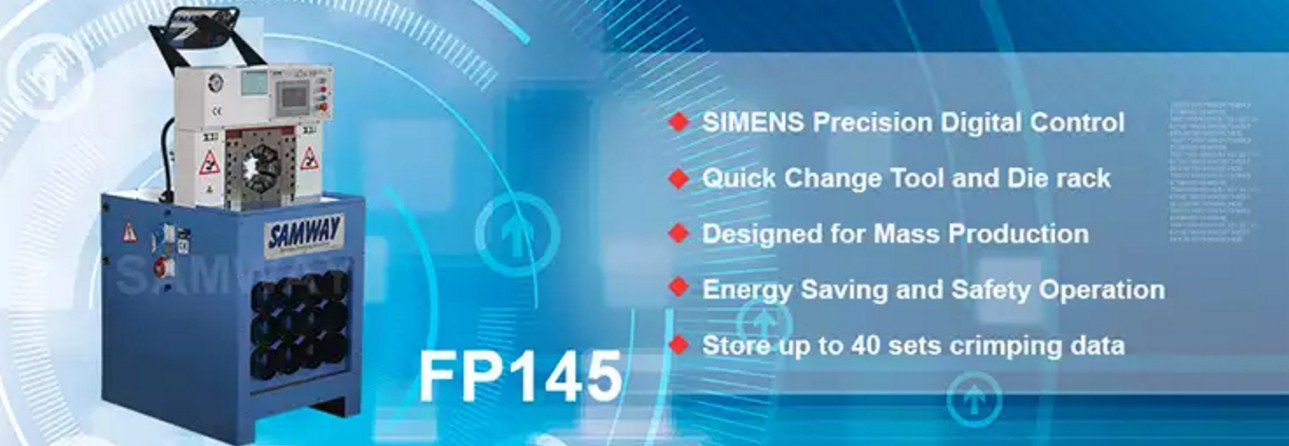 Обжимной станок РВД производственный - SAMWAY FP145 (108-162) - 2