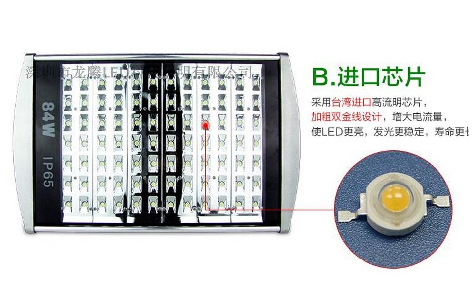 Промышленный светодиодный светильник LED 28W-196W (115-100) - 6