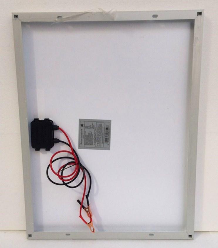 Поликристаллическая панель солнечных батарей 50W/12V (120-103) - 3