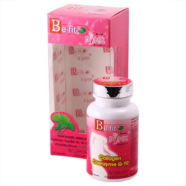 Омолаживающий комплекс Be-Fit PINK Collagen Coenzyme Q-10, 60 капсул (122-004) - 1