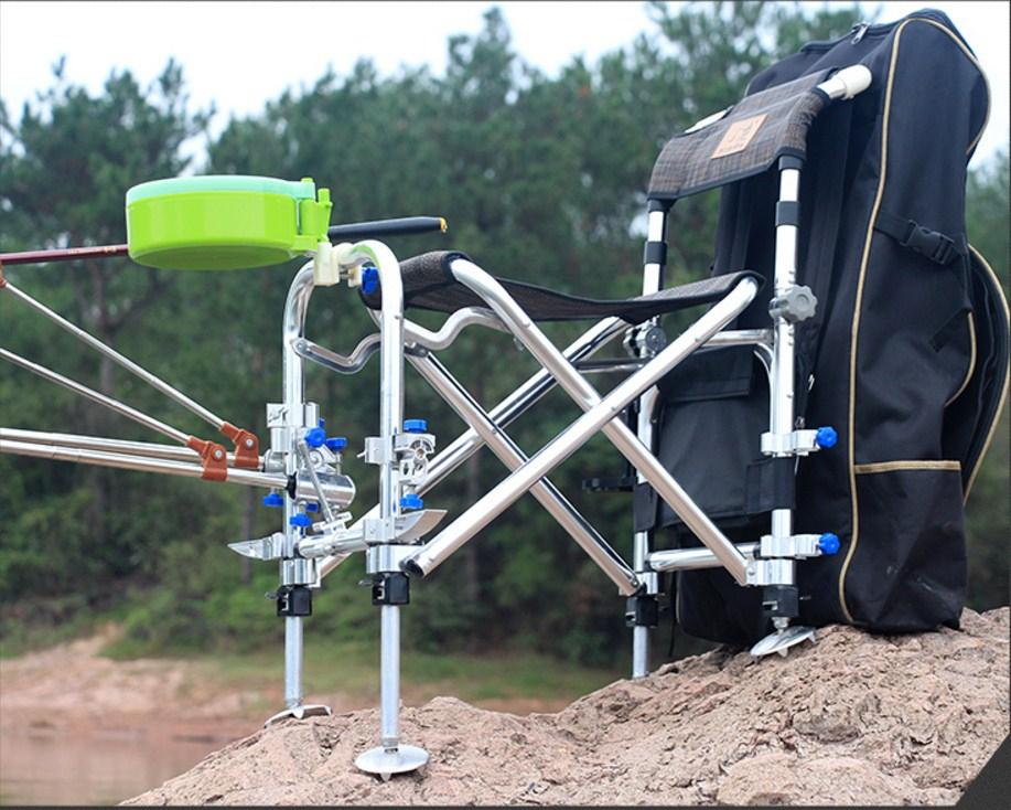 Многофункциональный портативный складной стул для рыбалки JILILAI (129-100) - 2