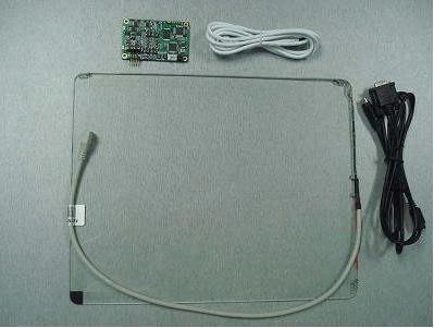 """Сенсорный экран 10.4"""" GreenTouch GT-SAW-10.4C-6FS, 4-6 мм ПАВ, USB (133-110) - 2"""