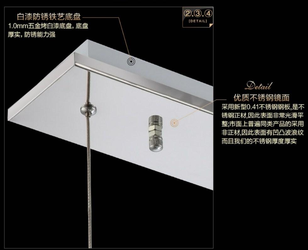 Потолочный светильник Plymouth Dili Lighting Crystal LED-5780-5 (101-239) - 9