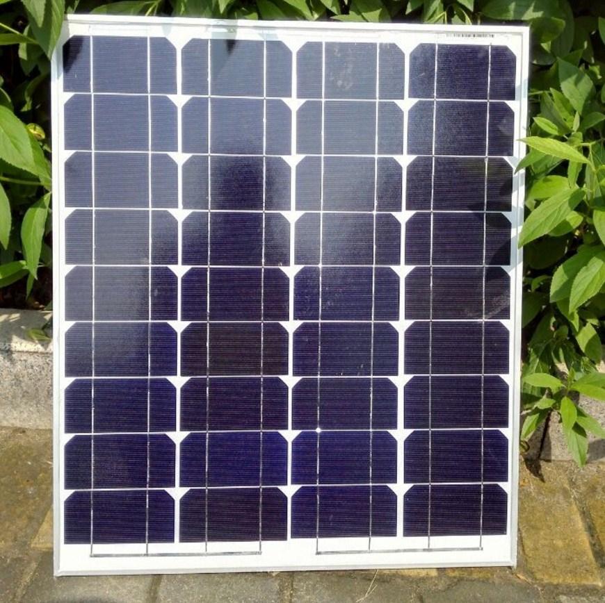 Монокристаллическая солнечная панель GX-2015-50-1 (120-108) - 1