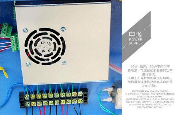 Лазерный станок - гравер Walter Fernandez WD-4060 (103-112) - 14