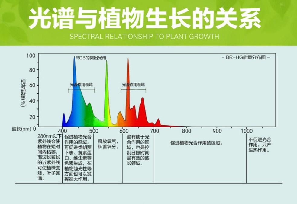 Светодиодная лампа для роста растений Birui Te 1321-40W-80W (112-121) - 10