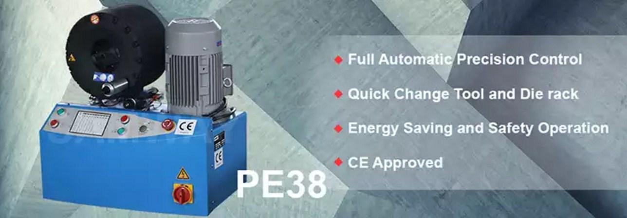 Обжимной станок РВД высокой точности - SAMWAY PE38 (108-172) - 1