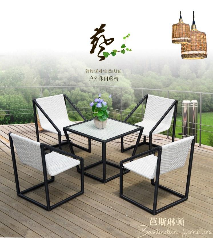 Столик и кресла из ротанга BASI LYNTON (132-100) - 1
