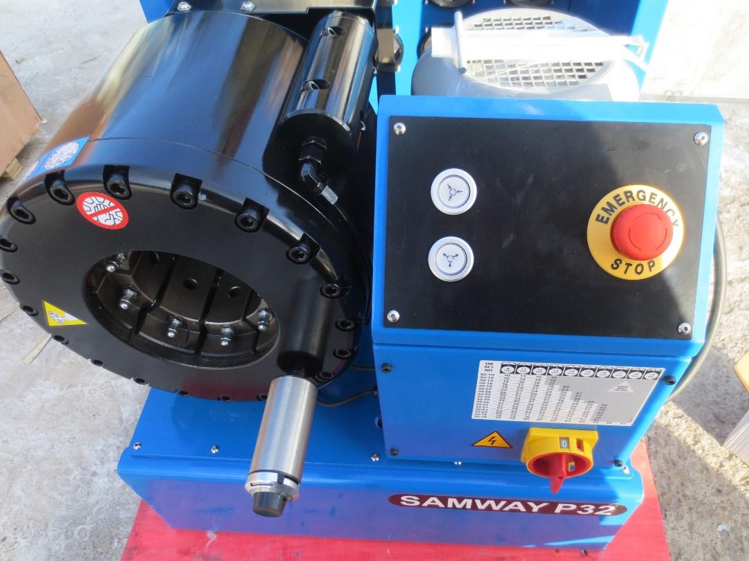 Станок для обжима РВД SAMWAY P32 (108-138) - 12