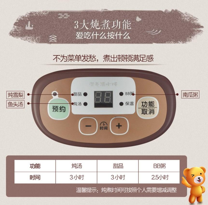 Электрическая пароварка Bear DDZ-118TA1 (119-101) - 8