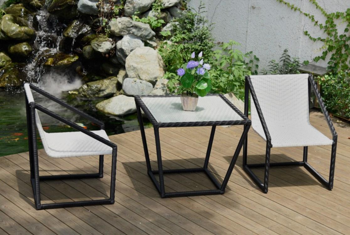 Столик и кресла из ротанга BASI LYNTON (132-100) - 8