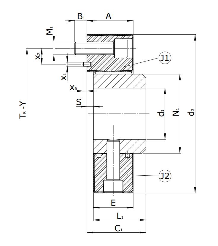 Муфты CENTAFLEX-A TYPE 1 /1–S (118-105) - 1