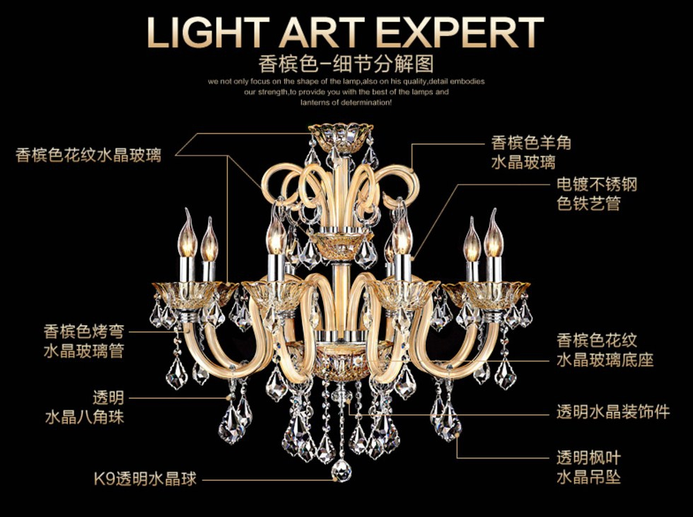Люстры в стиле ретро Plymouth Dili Lighting LED-6205 (101-231) - 11