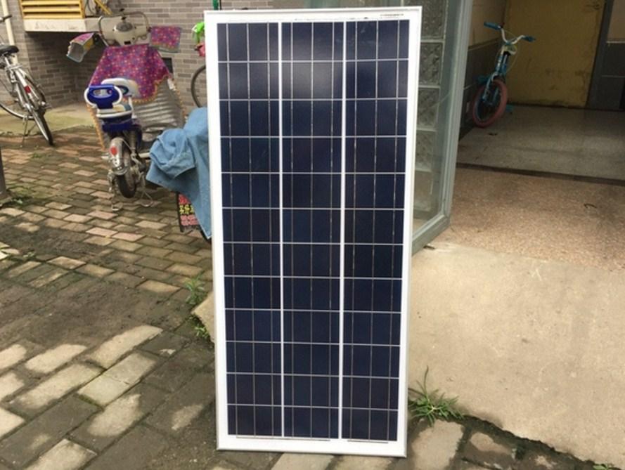 Поликристаллическая панель солнечных батарей 100W-12V (120-104) - 2