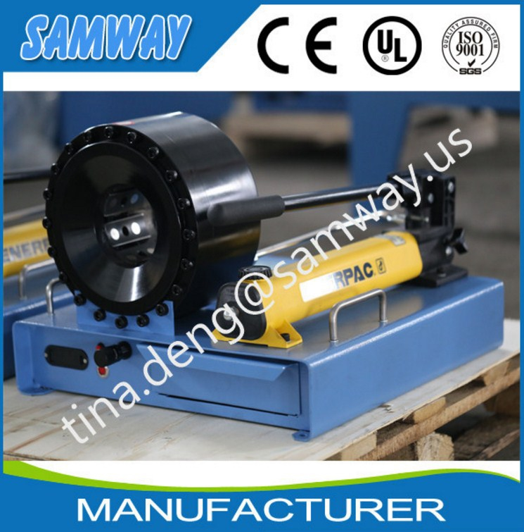 Ручной станок для обжима РВД SAMWAY P20HP (108-136) - 4