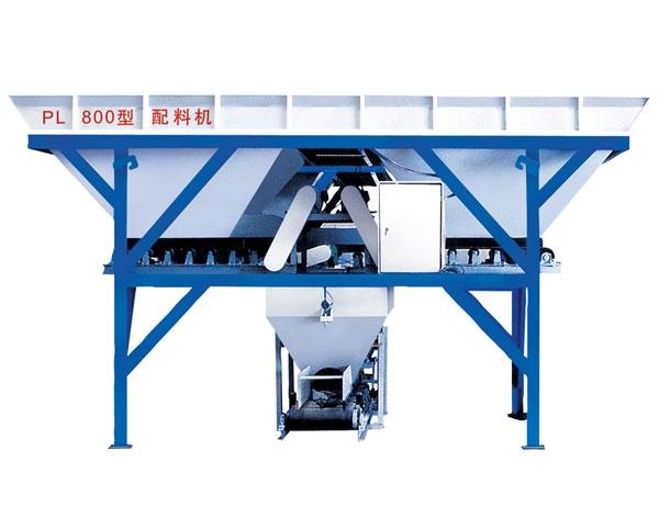 Дозатор с двумя бункерами PL800 для производства кирпича, блоков и тротуарной плитки (117-102) - 1