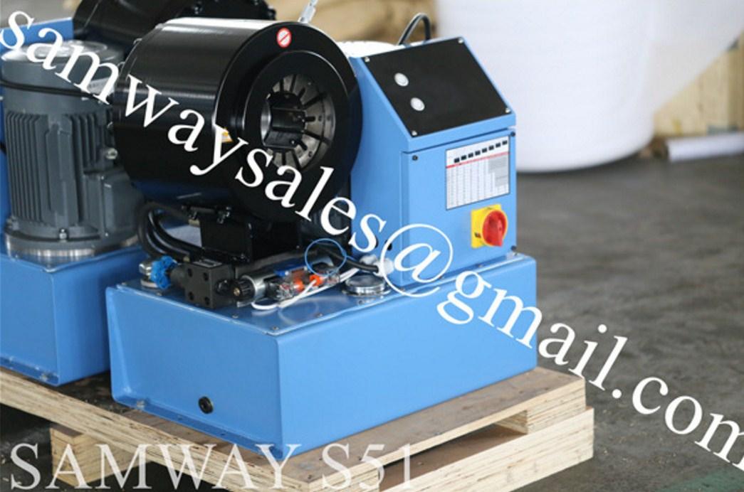 Станок для обжима РВД SAMWAY S51 (108-148) - 2