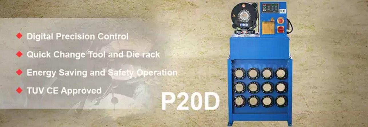 Высокоточный обжимной станок РВД - SAMWAY P20D (108-167) - 1
