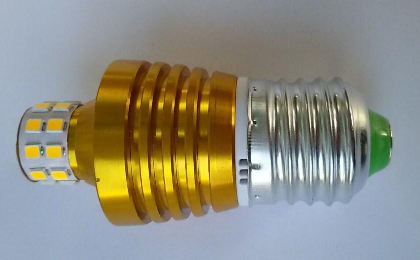 Лампа пожаробезопасная с металлическим корпусом LED-E27-5W (101-215) - 4