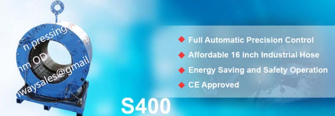 "Станок для обжима РВД 16"" SAMWAY S400 (108-212) - 3"