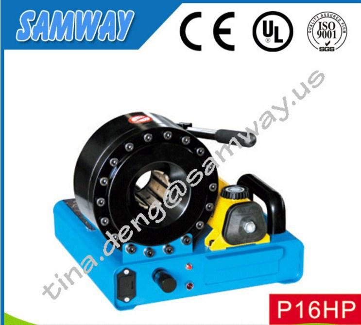 Ручной станок для обжима РВД SAMWAY P16HP (108-135) - 2