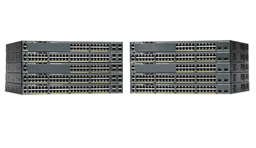 Коммутатор Cisco Catalyst WS-2960X-24TS-L (134-101) - 1