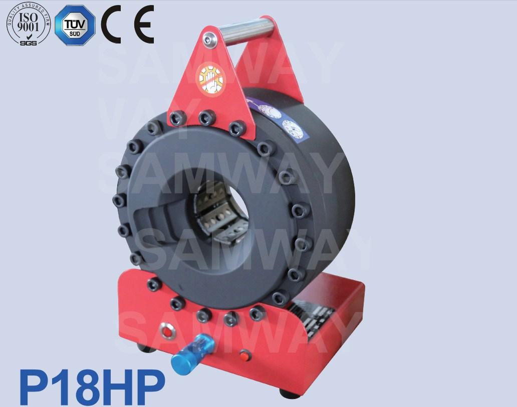 Портативный обжимной станок РВД - SAMWAY P18HP (108-160) - 1