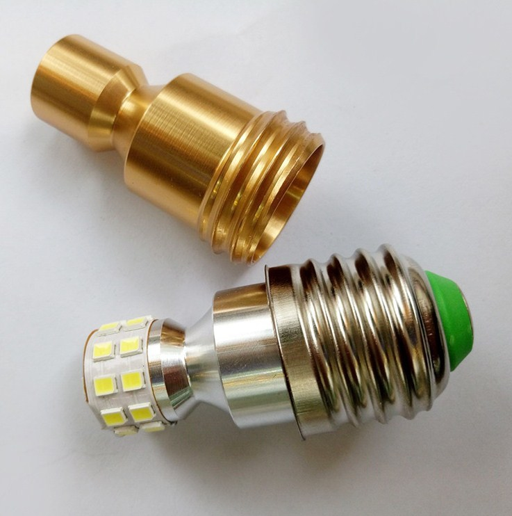 Лампа пожаробезопасная с металлическим корпусом LED-E27-5W-7W-2835 (101-218) - 4