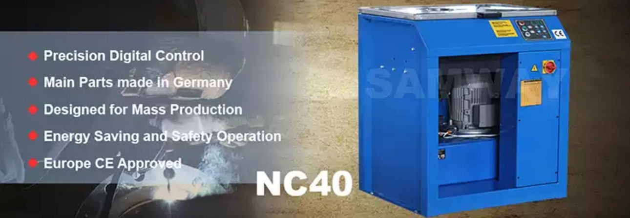 Станок для обжима гаек РВД - SAMWAY NC40 (108-179) - 1
