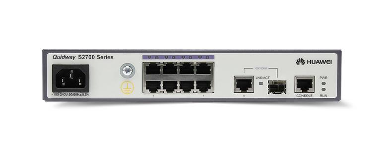 Коммутатор Huawei S2700-9TP-SI-AC (134-114) - 3