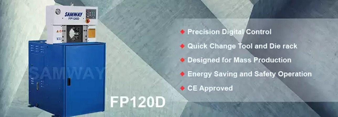 Обжимной станок РВД производственный - SAMWAY FP120D (108-164) - 1