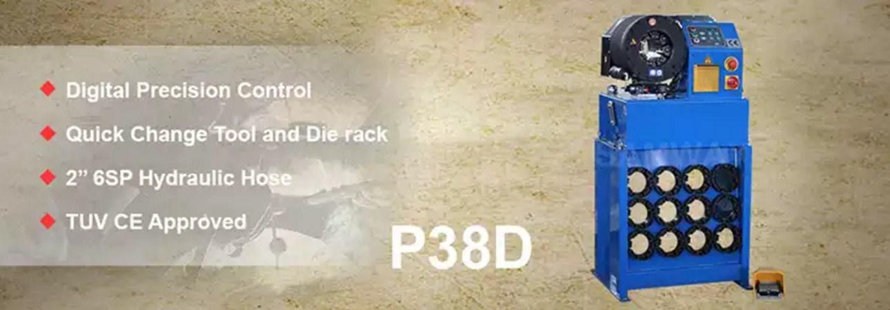 Высокоточный обжимной станок РВД - SAMWAY P38D (108-165) - 1