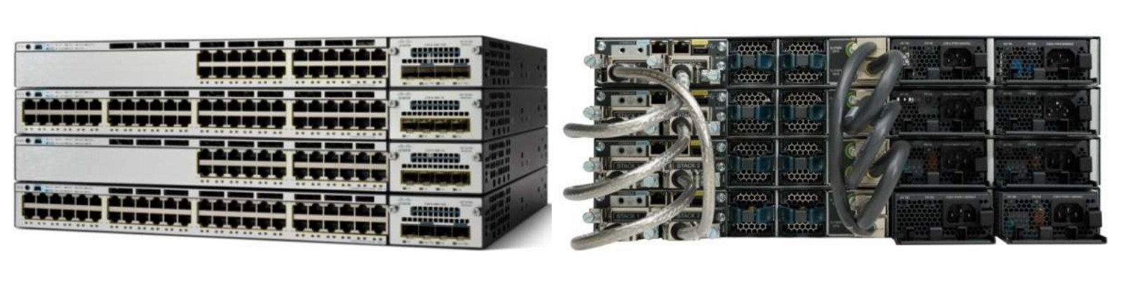 Коммутатор Cisco Catalyst WS-C3750X-48PF-L (134-202) - 2