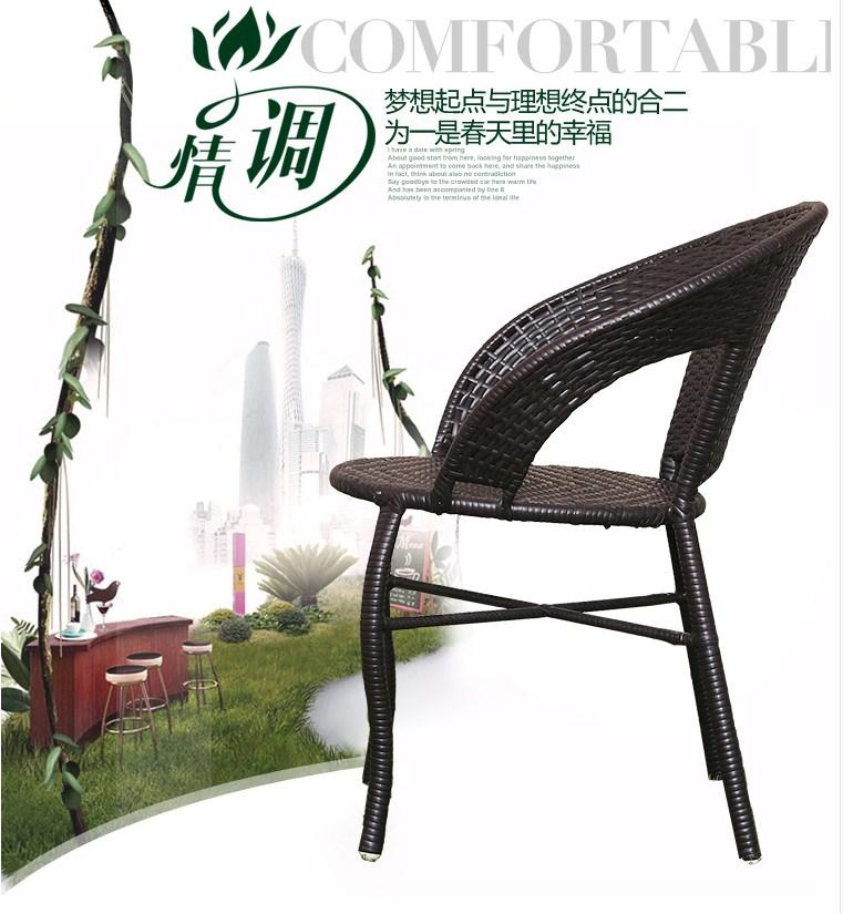 Столик и три кресла из ротанга Sunco (132-102) - 10