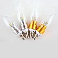 Энергосберегающие светодиодные лампы E12 / E14 / E27  - 1