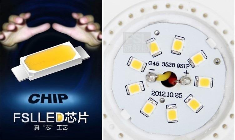 Светодиодные лампы LED-A55-E27 (101-202-2) - 5