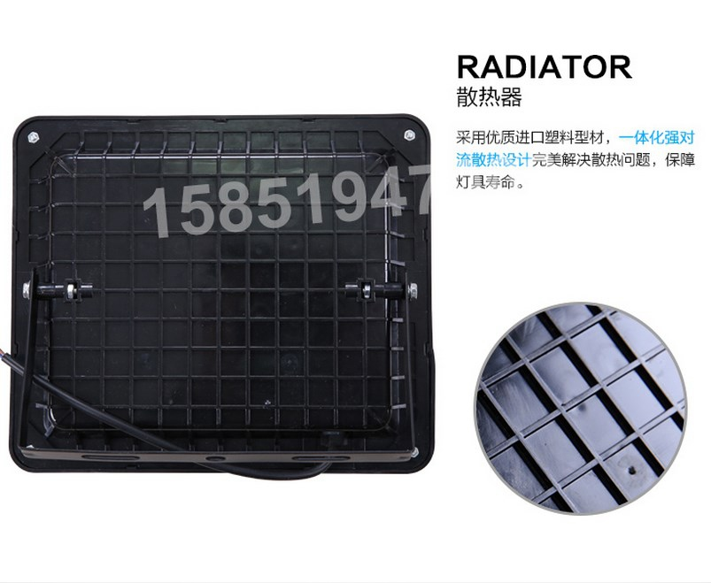 Промышленный светодиодный прожектор LED 30W-400W (115-101) - 8