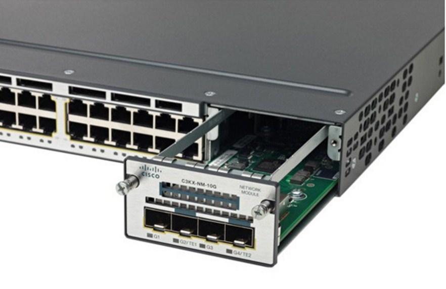 Коммутатор Cisco Catalyst WS-C3750X-48PF-L (134-202) - 3